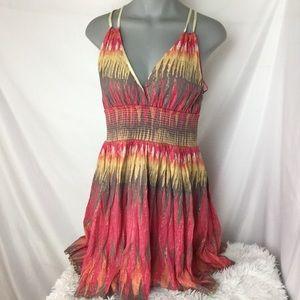 Free People Indian Summer Lurex Dress